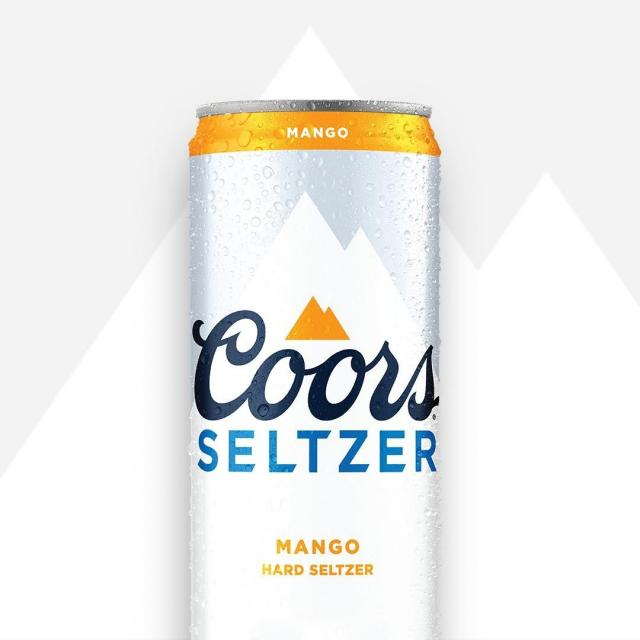 Try Coors Hard Seltzer Mango. Not only is it a refreshing take on Hard Seltzer, but also a refreshing take on mangos.