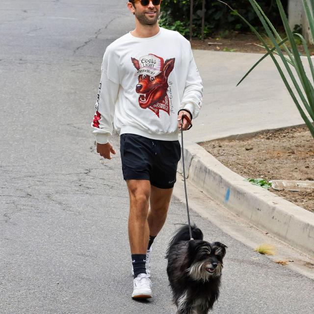 SPOTTED: @chacecrawford in a quasi-vintage #BEERWOLF jumper with his other 4-legged friend. You could win his sweatshirt (plus the rest of the Coors Light x @tlroom Beer Wolf collection). Head to our link in bio to enter for your chance to win xoxo #AHROOoo! 🍺🐺  NO PURCH. NEC. Open to legal res of 50 US/DC 21+ only. Begins 10/1/21 and ends 10/31/21. For Rules, visit coorslight.com/MerchSweeps. Void where prohibited. Msg&data rates may apply.