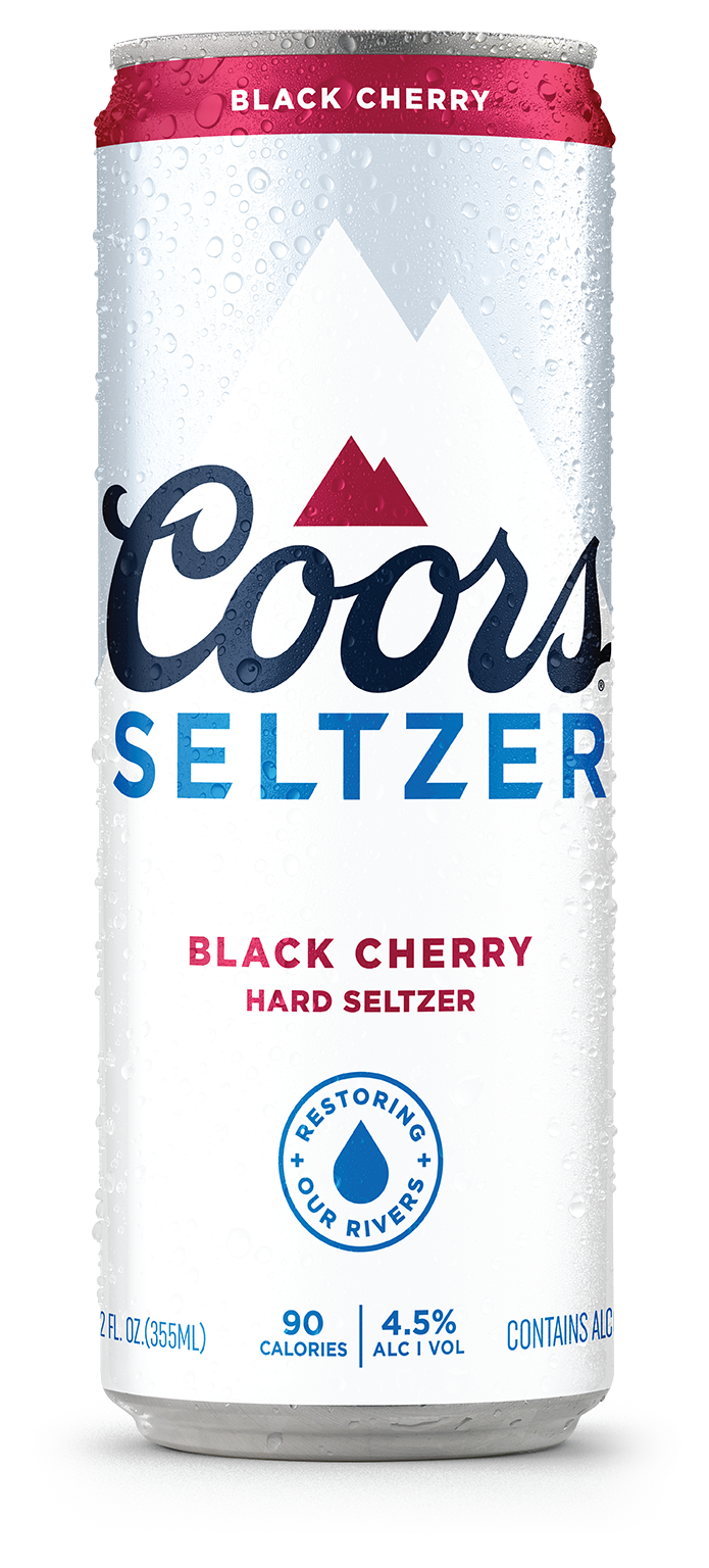 Coors Seltzer Black Cherry