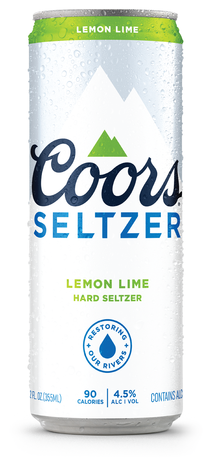 Coors Seltzer Lemon Lime