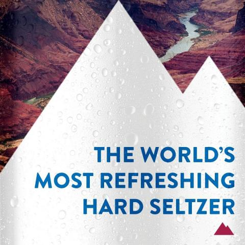 Sometimes a visual says it all. Try one of 4 refreshing flavors of Coors Hard Seltzer today.
