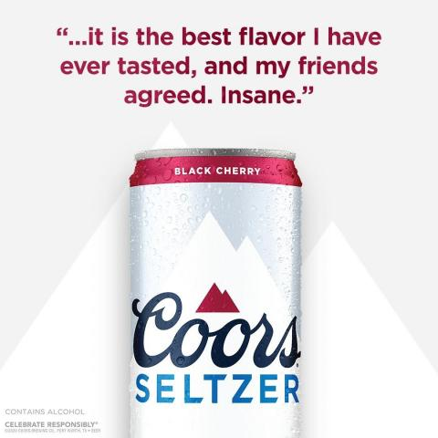 If you haven't tried Coors Hard Seltzer Black Cherry then we should change that. Try it today and get your first 12-pack on us.* Link in bio. 📝: @SpoonUniversity  *Beer Purch. Req'd. Void in AL, AR, HI, IN, LA, MO, NC, TX, UT, and WV and where prohibited by law. 21+ Visit promorules.com/coorsseltzerrebate for Details. Ends 4.30.21